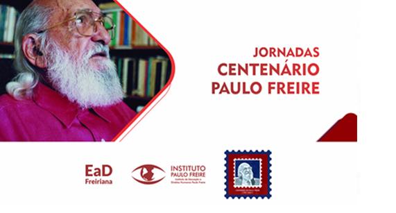 As inscrições já estão abertas para as Jornadas 'Centenário Paulo Freire'