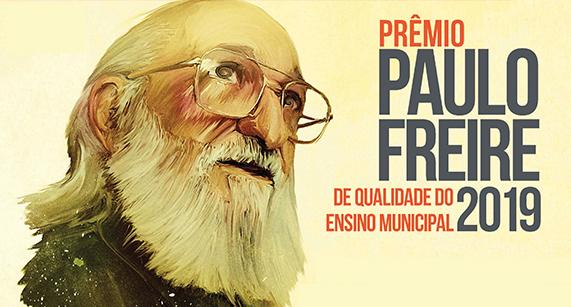 Inscrições abertas para o Prêmio Paulo Freire 2019