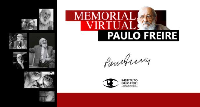 Instituto lança Memorial Virtual Paulo Freire