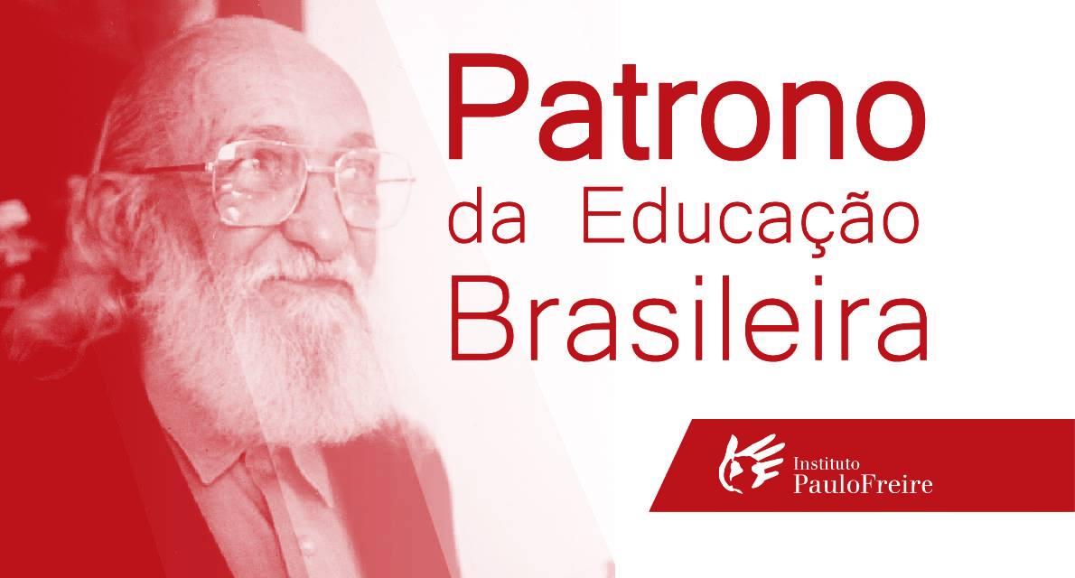 Paulo Freire permanece com o título de Patrono da Educação Brasileira
