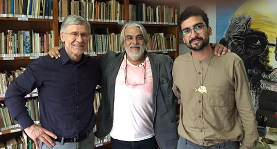 IPF recebe visita do artista e pedagogo theco, Jaroslav Andel