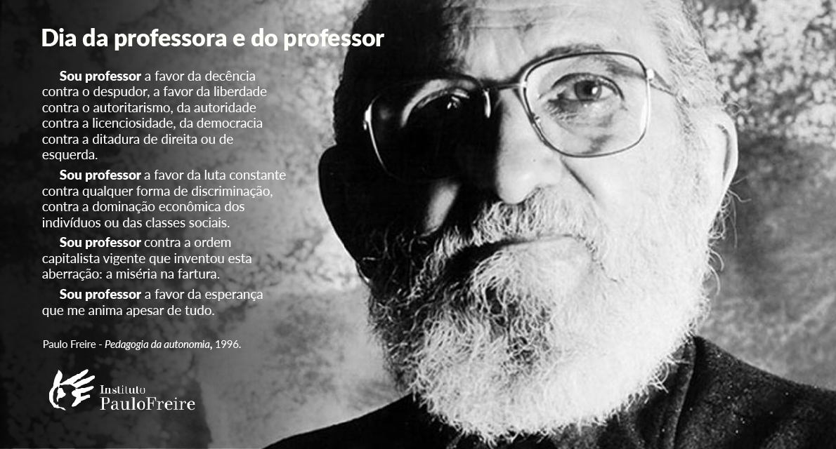15 de outubro: Dia dos(as) Professores(as)