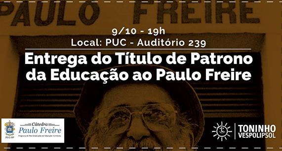 Coletivo Paulo Freire por uma Educação Democrática