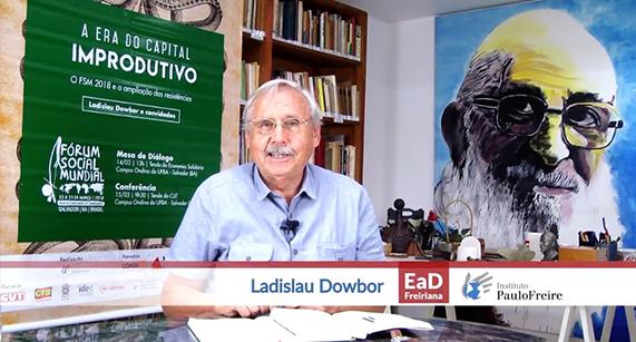 EaD Freiriana do IPF disponibiliza vídeos do curso