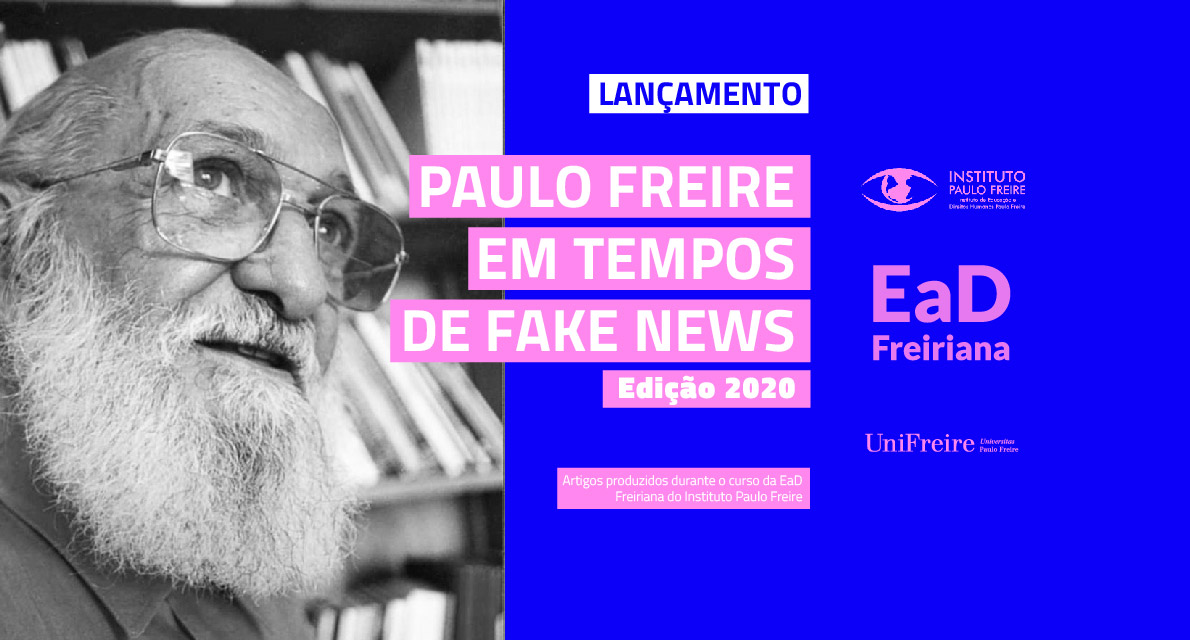 Lançado mais um e-book da EaD Freiriana do Instituto Paulo Freire