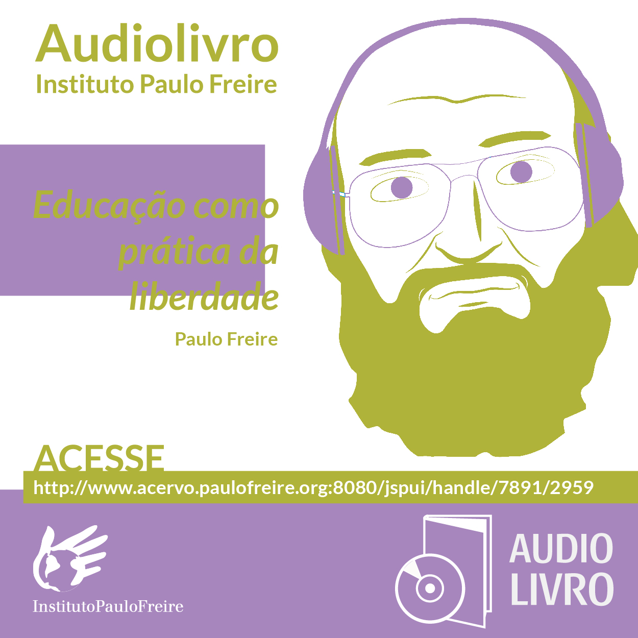 Educacao como AUDIOLIVRO face
